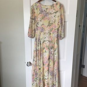 Brand new Yumi Kim full length flowy dress